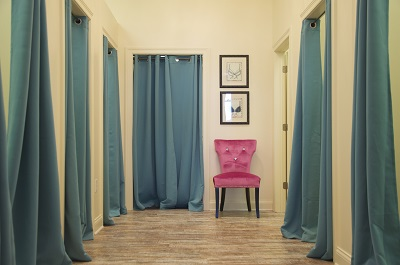 Our Fitting Rooms in Indianapolis